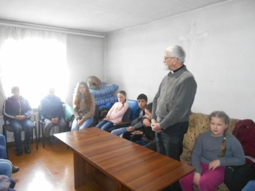 Встреча министрантов
